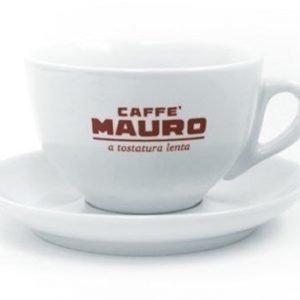 Caffè Mauro Capuccinokuppi ja alusta