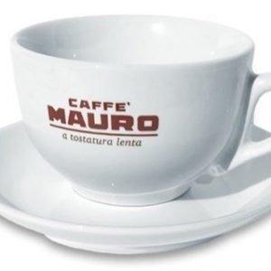 Caffè Mauro Lattekuppi ja alusta