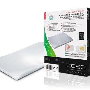 Caso Vakuumipussit Läpinäkyvä 40x60 Cm 25 Kpl