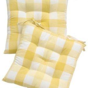 Cellbes Istuintyyny 2-Pakkaus Keltainen