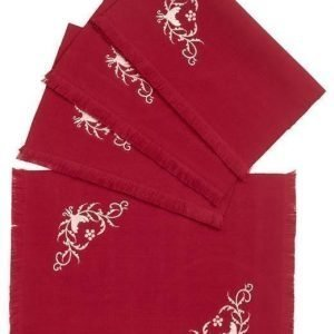 Cellbes Pöytätabletti 4-Pakkaus Punainen Pellavanbeige