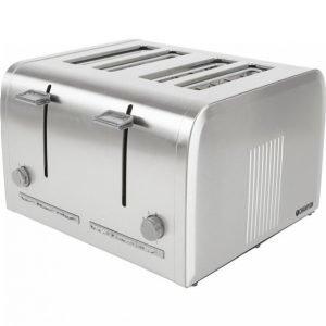 Champion Electronics Leivänpaahdin Ruostumatonta Terästä 4 Viipaleelle