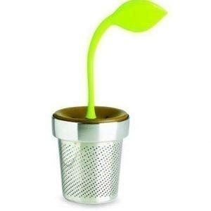 Chef'n Tea Leaf Teesiivilä meloni/ruskea