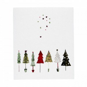 Christmas Trees Keittiöpyyhe Multi
