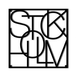 City Trivet Stockholm Pannunalunen 18x18 Cm
