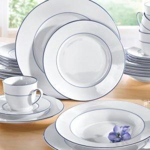 Creatable Posliiniastiasto Valkoinen / Sininen