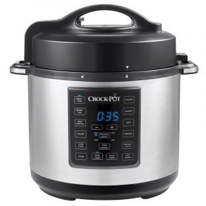 Crock Pot Csc051x 01 Express Multicooker Painekattila Hopea 5