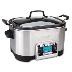 Crock Pot Haudutuspata Multi Ajastimella Ruostumaton Teräs 5.6 L