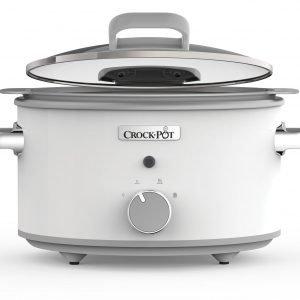 Crock Pot One Pot Cooking Haudutuspata Duraceramic Valkoinen 4.5 L