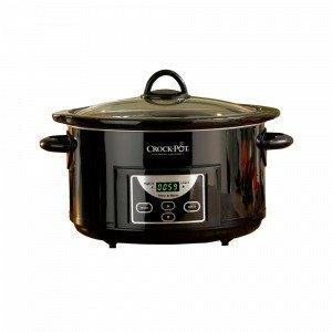 Crock-Pot Slow Cooker Haudutuspata Ajastin Musta 4