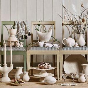 Cult Design Orient Teekannu Valkoinen / Kulta 1