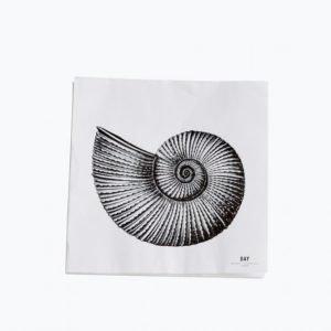 Day Home Day Paper Napkin Seashell Lautasliinat 33x33 Cm