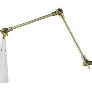 Day Home Metal Adjustable Seinävalaisin Metalli Valkoinen / Messinki