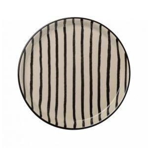 Day Home Stripe Plate Leipälautanen