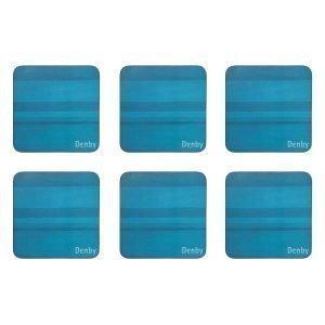 Denby Colours Lasinalunen Turkoosi 6 Kpl