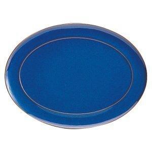 Denby Imperial Blue Soikea Tarjoiluvati