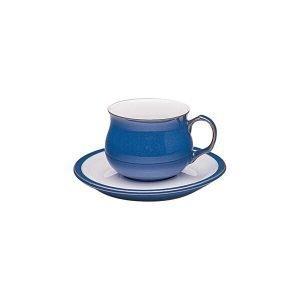 Denby Imperial Blue Teelautanen