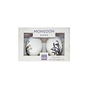 Denby Monsoon Chrysanthemum Suola & Pippuri Setti