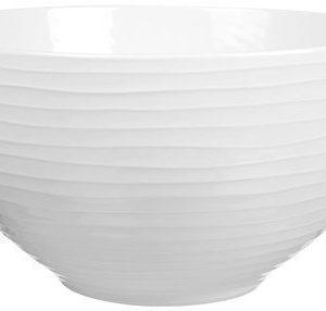 Design House Stockholm Blond Salaattikulho valkoinen/raita 30 cm