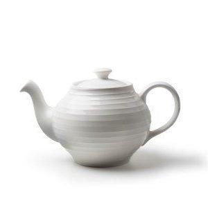 Design House Stockholm Blond teekannu valkoinen/raita