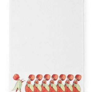 Design House Stockholm Elsa Beskow Keittiöliina Familjen Jordgubbe 45x65 Cm