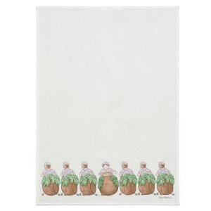 Design House Stockholm Elsa Beskow Keittiöpyyhe Mrs Potatoes 45x65 Cm