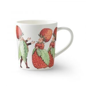 Design House Stockholm Elsa Beskow Muki Kahvalla Strawberry Family