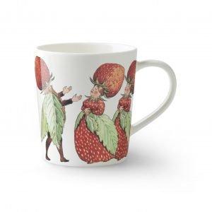 Design House Stockholm Elsa Beskow Strawberry Family Muki 40 Cl