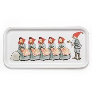 Design House Stockholm Elsa Beskow Tarjotin Elf Family 13x28 Cm