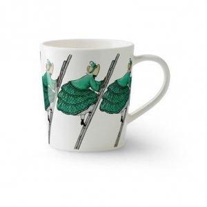 Design House Stockholm Elsa Beskow muki kahvalla Tant Gul 40 cl