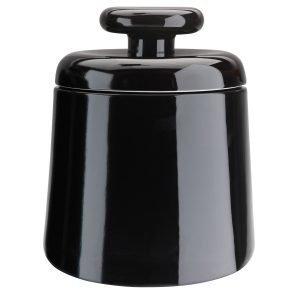 Design Kristina Stark Container Säilytyspurkki Musta