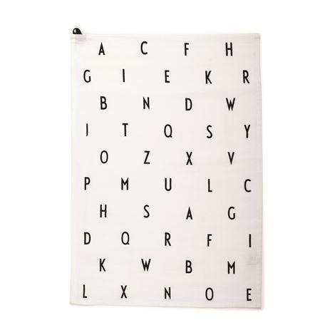 Design Letters Aj Vintage Keittiöpyyhe Valkoinen