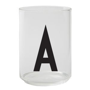 Design Letters Arne Jacobsen A Juomalasi
