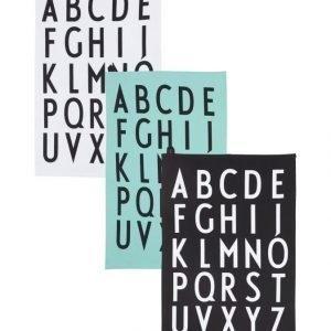 Design Letters Keittiöpyyhe 3 Kpl