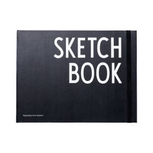 Design Letters Sketch Book Vihko