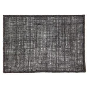 Dixie Linen Pöytätabletti Black 45x32 Cm