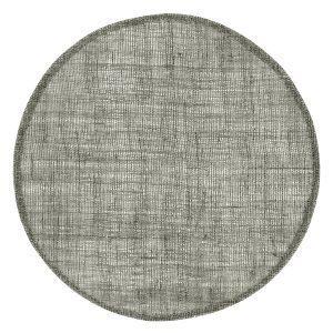 Dixie Linen Pyöreä Pöytätabletti Dark Grey 38 Cm