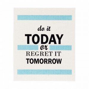 Do It Today Tiskirätti Kermanvalkoinen