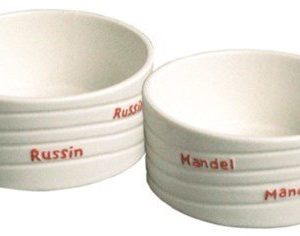Dorre Rusina- & mantelikulho keramiikkaa 2 pack
