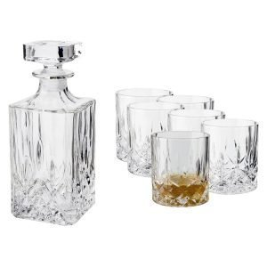 Dorre Vide Whiskey Set Kristalli