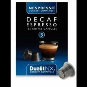 Dualit Kahvikapselit Decaf N/X 10-pack