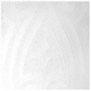 Duni Elegance Lily Napkins Lautasliina 10-Pakkaus Valkoinen 40x40 Cm