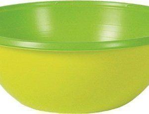 Duni Muovikulho Colorix 38 cl Vihreä 10 kpl