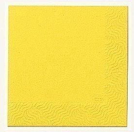 Duni Servettejä 24 cm 3-kerroksinen Keltainen 20 kpl