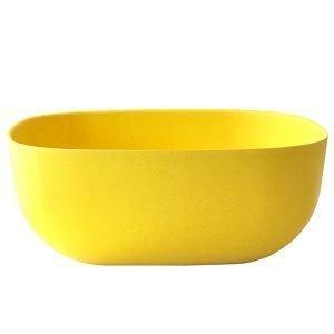 Ekobo Biobu Gusto Salaattikulho Keltainen