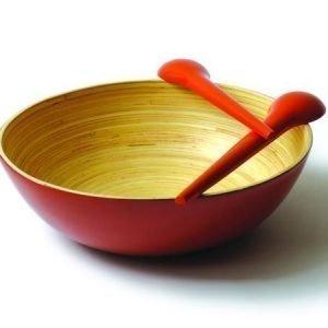 Ekobo Medio-kulho punainen