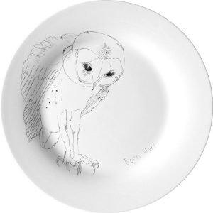 Elli Popp Barn Owl Lautanen