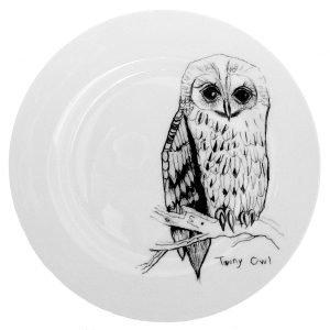 Elli Popp Tawny Owl Lautanen