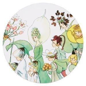 Elsa Beskow Blomsterparaden Pannunalunen Ø20 Cm