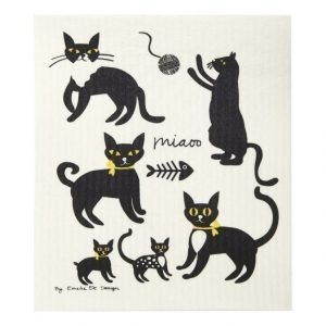 Emelie Ek Design Cats Tiskiliina